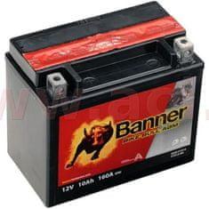 Banner baterie 12V, YTX12-BS, 10Ah, 160A, BANNER Bike Bull AGM 150x87x131 51012