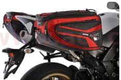 Oxford boční brašny na motocykl P50R, OXFORD (černé/červené, objem 50 l, pár) OL316