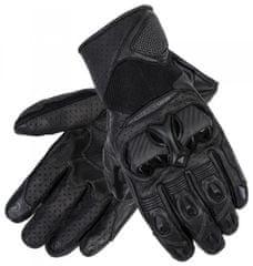 Rebelhorn Moto rukavice REBELHORN FLUX II černé (Velikost: M) 2H360529