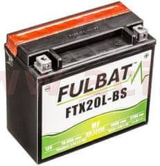 Fulbat baterie 12V, FTX20L-BS, 18Ah, 270A, bezúdržbová MF AGM 175x87x155, FULBAT(vč. balení elektrolytu) 550610