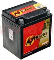 Banner baterie gelová 12V, GT30-3, 30Ah, 380A, BANNER Bike Bull GEL 168x127x177 GEL 530 01