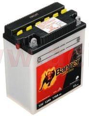 Banner baterie 12V, YB12AL-A2, 12Ah, 170A, BANNER Bike Bull 134x80x160 51213