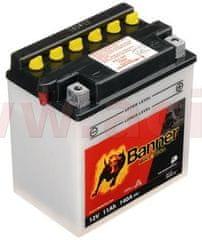 Banner baterie 12V, YB10 l-A2, 11Ah, 140A, BANNER Bike Bull 135x90x145 51112