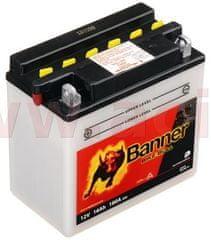 Banner baterie 12V, YB16B-A1, 16Ah, 180A, BANNER Bike Bull 160x90x161 51615