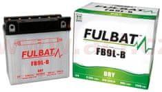 Fulbat baterie 12V, FB9 l-B, 9Ah, 130A, konvenční 135x75x139 FULBAT (vč. balení elektrolytu) 550599