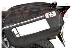 Oxford boční brašny na motocykl F1, OXFORD (černé, objem 55 l, pár) OL445