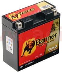 Banner baterie gelová 12V, GTZ14B-4, 12Ah, 200A, BANNER Bike Bull GEL 150x69x145 GEL 512 21