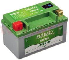 Fulbat lithiová baterie LiFePO4 YTX14-BS FULBAT 12V, 4Ah, 280A, hmotnost 0,7 kg, 150x87x93 560510