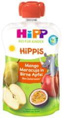HiPP BIO 100% ovoce Hruška-Jablko-Mango-Marakuja 6 x 100 g