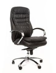 Sedia Kancelářské křeslo Q154 černá kůže