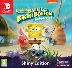 THQ Nordic Spongebob SquarePants: Battle for Bikini Bottom - Rehydrated - Shiny Edition igra (Switch)