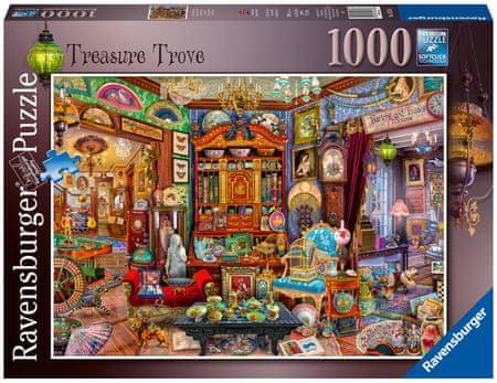 Ravensburger Puzzle 165766 Zakladnica, 1000 delov