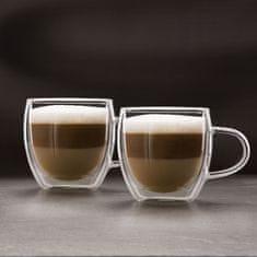 Vog&Arths Skodelica za cappuccino 250ml dvojno steklo 2 kosa / paket