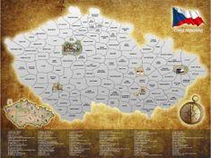 Alum online Stieracia mapa Českej republiky