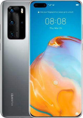 Huawei P40 GSM telefon, 128 GB, siv
