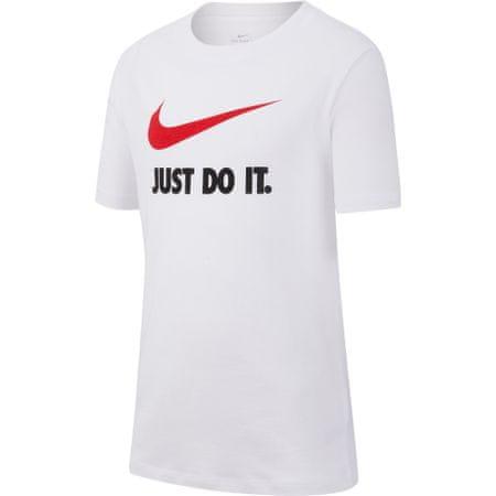 Nike t-shirt chłopięcy Sportswear XS biały