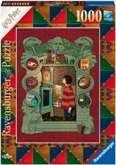 Ravensburger Puzzle 165162 Harry Potter A Weasley családnál 1000 darab