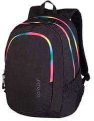 Target 3 Zip Duel nahrbtnik, Black Rainbow