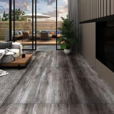 shumee Podlahová krytina PVC 4,46 m² 3 mm pruhované dřevo