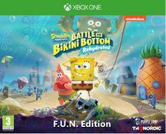 THQ Nordic Spongebob SquarePants: Battle for Bikini Bottom - Rehydrated - F.U.N. Edition igra (Xbox One)