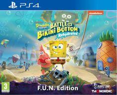 THQ Nordic Spongebob SquarePants: Battle for Bikini Bottom - Rehydrated - F.U.N. Edition igra (PS4)