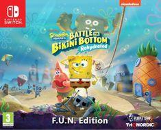 THQ Nordic Spongebob SquarePants: Battle for Bikini Bottom - Rehydrated - F.U.N. Edition igra (Switch)