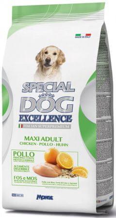 Monge Special Dog Excellence Adult Maxi suha briketirana hrana za pse, 12 kg
