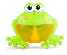 Alum online Bublinkovač do vane v tvare žaby