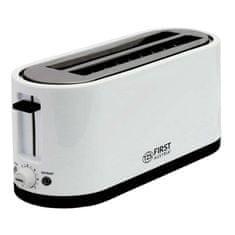 First Austria toaster, 1400 W, črno-bel