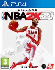 Take 2 NBA 2K21 standard edition igra (PS4)