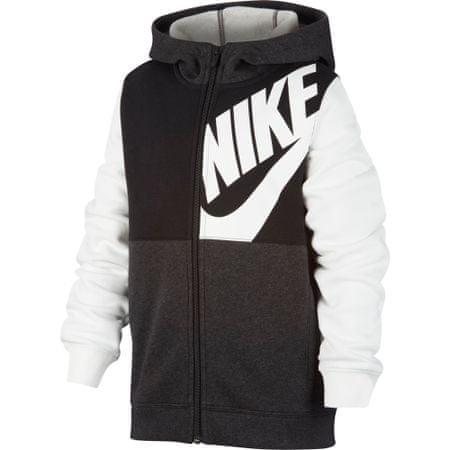Nike fiú melegítőfelső Sportswear, XS, fekete