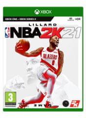 Take 2 NBA 2K21 standard edition igra (Xbox One)