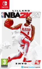 Take 2 NBA 2K21 standard edition igra (Switch)