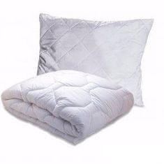 Top textile Set - vankúš a prikrývka Biely