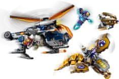 LEGO Super Heroes 76144 Avengers: Hulk a výsadek vrtulníkem