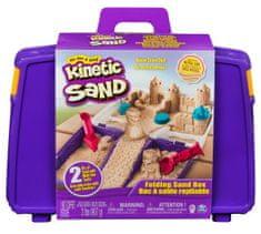 Kinetic Sand Utazási bőrönd formákkal