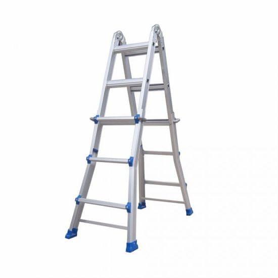 Max Obojstranný rebrík KMP403C 4x3 priečky