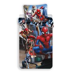 Jerry Fabrics posteljnina Spiderman Action