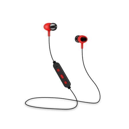 setty. GSM099291 Słuchawki sportowe Sport Bluetooth czerwone