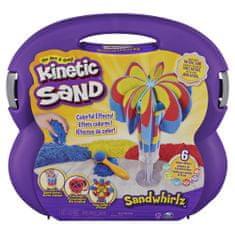 Kinetic Sand Bőrönd szerszámokkal