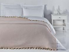 Denizli Concept Prehoz na posteľ BALIK SIRTI pudrová (200x240 cm.)