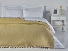 Denizli Concept Prehoz na posteľ BALIK SIRTI horčica (200x240 cm.)