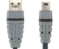 Bandridge Usb mini kabel bcl4402,