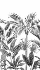 Grandeco Vliesová obrazová tapeta Tropical Forest A40801, 159 x 280 cm, Collector, Murals, Grandeco