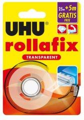 UHU Rollafix nevidni lepilni trak z držalom, 25 m + 5 m