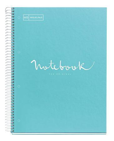 Miquelrius bilježnica, A4/80L, crte, Emotions, svijetlo plava