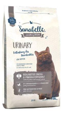 Sanabelle Urinary suha hrana za mačke, 2 kg
