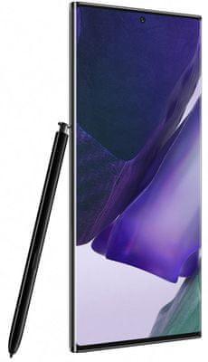 Samsung Galaxy Note20 Ultra 5G, 120 Hz, Dynamic AMOLED Infinity-O bezrámčekový displej, HDR10+, veľký, QHD+, vysoké rozlíšenie displeja, priestrel, Gorilla Glass 7.