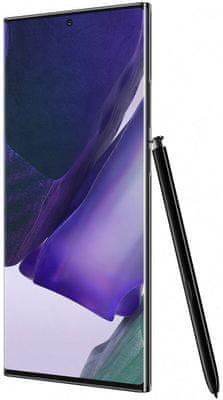 Samsung Galaxy Note20 Ultra 5G, trojitý fotoaparát, ultraširokouhlý objektív, teleobjektív, optický zoom, optická stabilizácia, vysoké rozlíšenie, laserové ostrenie