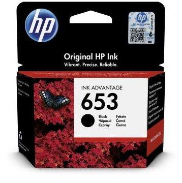 HP Tusz 653, czarny (3YM75AE)